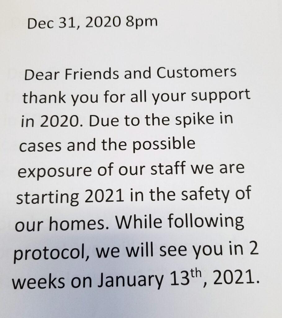 Notice 2020